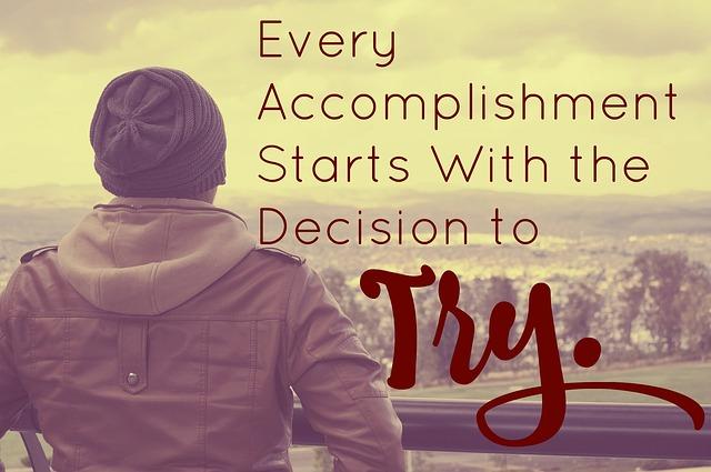 accomplish goals